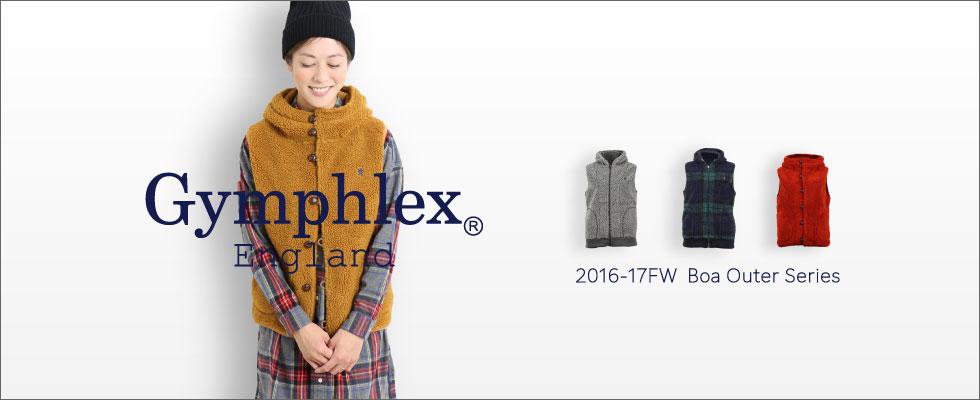 Gymphlex(ジムフレックス)ボアジャケット