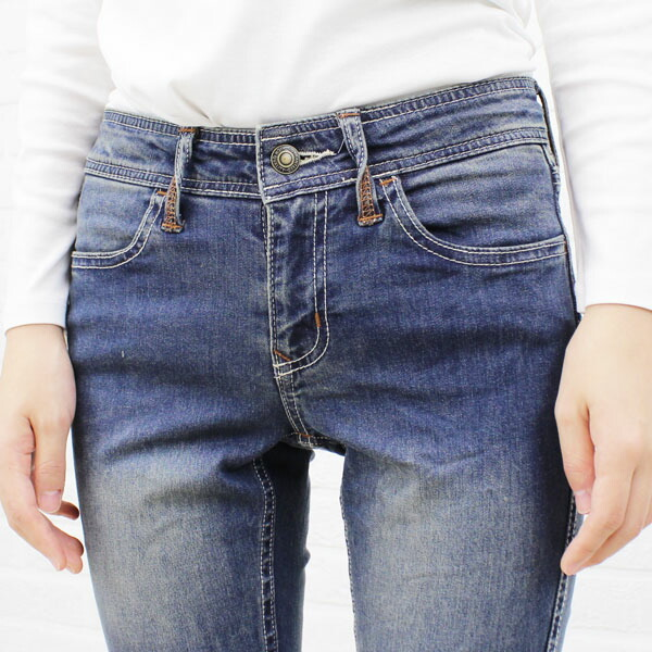 "Detailed image of ""EMILY DENIM"", BL-001"