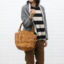 ■ ■ anyam nya robita (アニャムニャロビタ) mesh leather round bottom tote bag (S) and an-052S-2621302