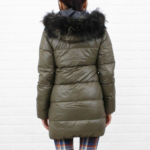 "Detailed image of food middle length coat ""KAPPA"", KAPPA with the DUVETICA( デュベティカ) nylon down fur"
