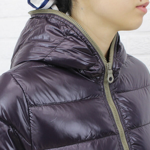 "DUVETICA( デュベティカ) nylon down hooded middle length coat ""ACE"", detailed image of the ACE"