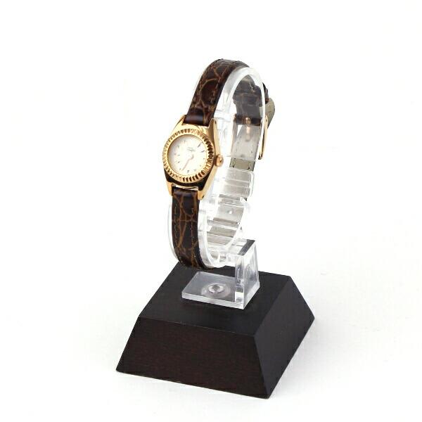 Tulipa(チュリパ) レザーベルト ピンクゴールド 腕時計・TU04-LPG の詳細画像