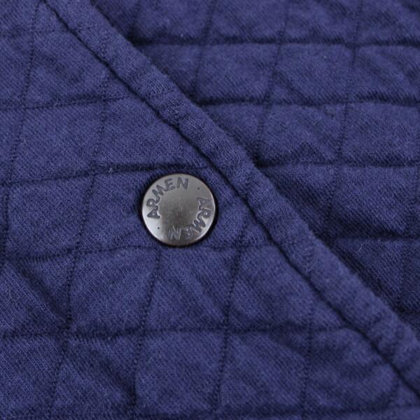 ARMEN(アーメン) コットン ポリエステル キルティング フードジャケット・NAM0454 の詳細画像