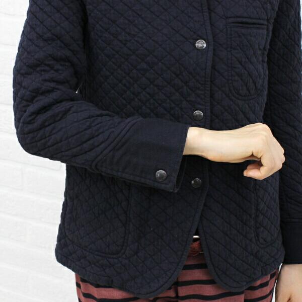 ARMEN(アーメン) コットン ポリエステル 長袖 シャツカラー キルティングジャケット・NAM0202B の詳細画像