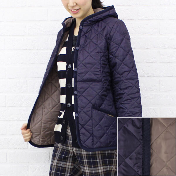 "Color image of LAVENHAM( ラベンハム) polyester food quilting jacket ""CRAYDON"", CRAYDON"