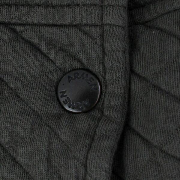 ARMEN(アーメン) コットン ポリエステル  キルティング  フードコート・NAM0553 の詳細画像