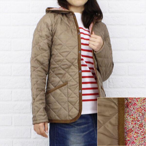 "Color image of LAVENHAM( ラベンハム) polyester food Liberty quilting jacket ""CRAYDON LIBERTY"", CRAYDON-LIB"