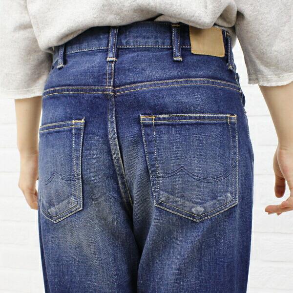 """caqu(サキュウ) コットン デニム  フルレングス サルエルパンツ """"FS Salel Pants(2years)""""・26003-15 の詳細画像"""