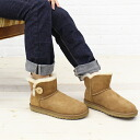 ".3352-2,451,302 bootie ""W MINI BAILEY BUTTON"" fs3gm with the UGG Australia( アグオーストラリア) sheepskin button"