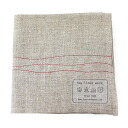 Handkerchief, LWH066-1961302 fs3gm with fog linen work (haze linen work) linen stitch