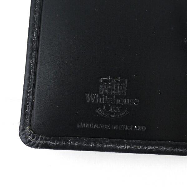 "Whitehouse Cox(ホワイトハウスコックス) ブライドルレザー 名刺入れ ""BRI NAME CARD CASE""・S7412 の詳細画像"