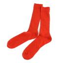 """French Bull( French bulldog) linen nylon neon color shortstop socks """"prairie socks neon"""" .114-225 -1,851,401"""