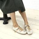 "Jeffrey Campbell (Jeffrey Campbell) レザーレースアップローカット flat shoes ""t-16""-T-16-0341301"