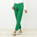 Betty Smith( Betty Smith) cotton color tapered pants, BAB1084A-1981302 fs3gm