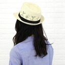 PHOLYA( フォリア) nature trees and plants soft felt hat hat Panama hat, NPY1402-0341401