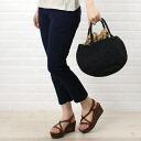 """Sans-Arcidet (San Alcide) raffia half-moon-shaped basket bag """"BAG TOURE""""-TOUREBAG-2461301"""