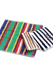 IL BISONTE( イルビゾンテ) cotton stripe pattern mini-towel .5422310099-0061401