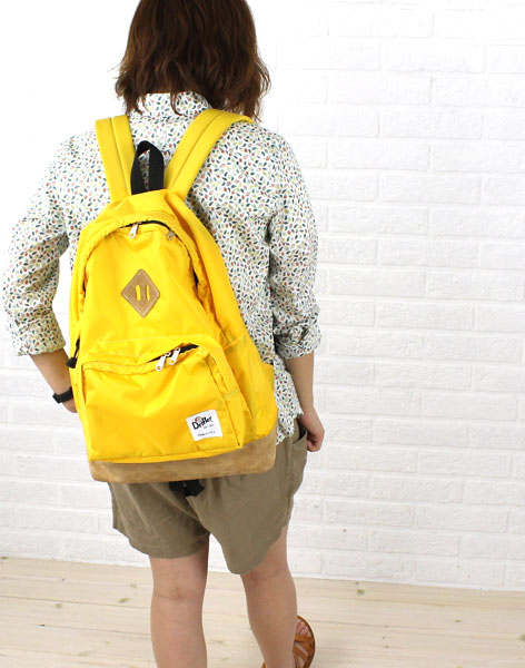 """Drifter(ドリフター) ナイロン フロントポケット付き バックパック """"SUNNY DAY PACK""""・DF1415  #Drifter"""