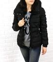 "Nylon down jacket MONCLER (MONCLER) ""Sangria"", SANGLIER-2011402"