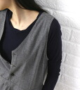 glaz (graze) cotton gauze long sleeve crew neck T shirt-gz-1211-1971302