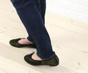 1001 PATTES( ミルエユヌパット) Harako pony pattern ballet shoes, NMP1051P-0341302