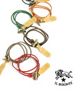 IL BISONTE( イルビゾンテ) leather string 2WAY bracelet necklace .5492300097-0061301