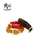 IL BISONTE( イルビゾンテ) buffalo leather mesh bracelet .5422307197-0061302