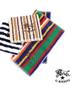 IL BISONTE (ilbizonte) cotton stripe pattern mini towel-5422310099-0061402