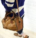 anyam nya warna (agnamugnavarna) leather 2-WAY Boston bag-R143-001-2621402