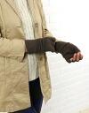 GLEN GORDON (グレンゴードン) angora-wool フィンガーレス gloves & NGG0753L &G-0341202
