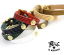 IL BISONTE (イルビゾンテ) leather Concho bracelet-5412305197-0061401