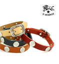 .5442301190-0061302 bracelet fs3gm with the IL BISONTE( イルビゾンテ) leather concho