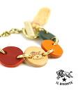 IL BISONTE (ilbizonte) leather tri-color charm Chambres-5402300397-0061402
