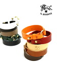5472305597-0061302-IL BISONTE (イルビゾンテ) leather bracelets