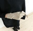 JOHNSTONS (johnstones) cashmere short CAF knit gloves & HAD03226-2851402