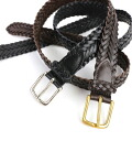 ANGLO (Anglo) leather mesh belt-0810-0321402