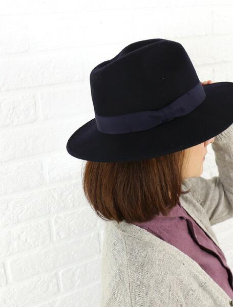 贝内利 (贝内利) 梅尔顿羊毛侧丝带帽子-659ta-0241402