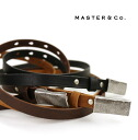Master&co.(master and co) leather belt-MC069-3281501