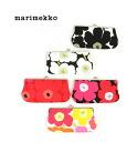 """marimekko( marimekko) コットンウニッコ pattern oblong pouch accessory case """"MINI UNIKKO SILMALASI KUKKARO"""" .5263131535-0061302"""