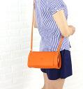 .411879-0061302 IL BISONTE( イルビゾンテ) leather barrel shoulder bag fs3gm