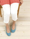 """FS/NY (エフエススラッシュエヌワイ) スエードフラット ballet shoes """"CLICKSUEDECOLOR""""-CLICK-SUEDE-0811302"""