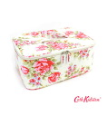(CATH) Cath Kidston oilcloth WASH CARRY CASE ENGLISH ROSE-OLD WHITE-304801-0011501
