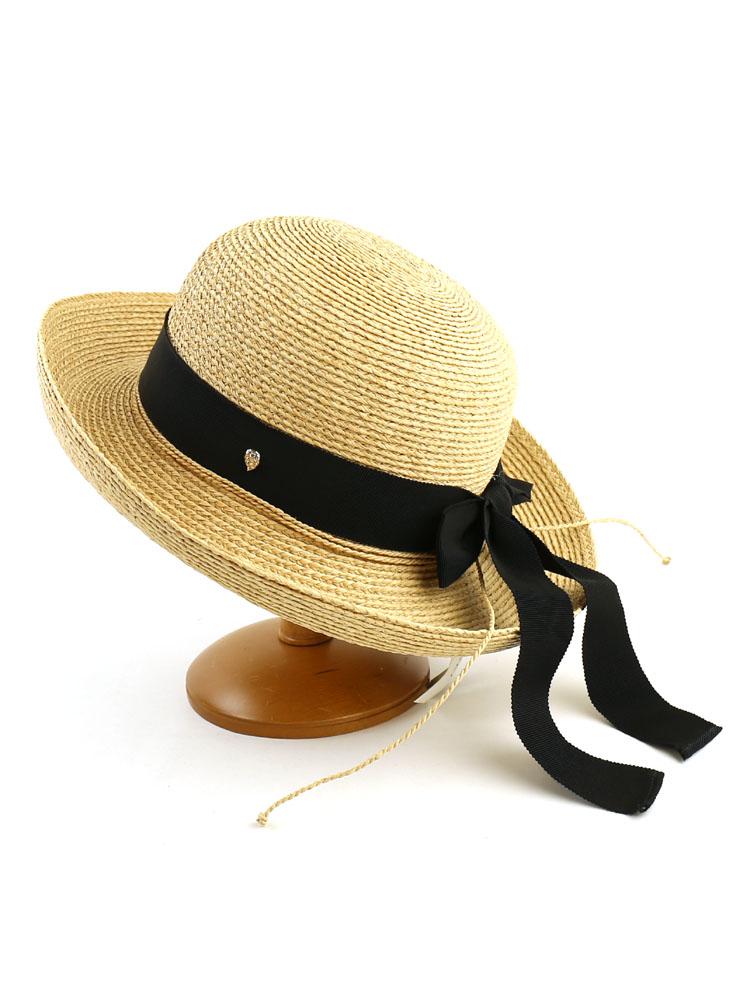 """罗缎丝带帽子""""新港""""-纽波特-某人与海伦 · 卡明斯基 (卡明斯基) 椰-3"""