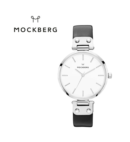 "MOCKBERG(モックバーグ) レディースウォッチ 腕時計 レザーベルト ラウンド ""ASTRID""・1002  #MOCKBERG"