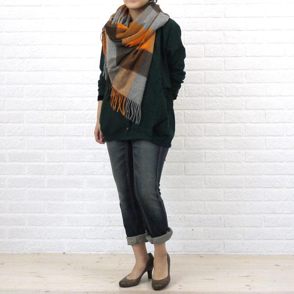 Betty Smith(ベティスミス)  フラップ ZIP デニム パンツ(ユーズド)・BAW2026W の着用イメージ