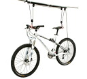 I hang BIKE Lift bicycle ceiling and lift an expression