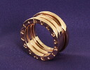 Bulgari BVLGARI ビーゼロワン ring 18kt pink gold (3 bands) AN852405