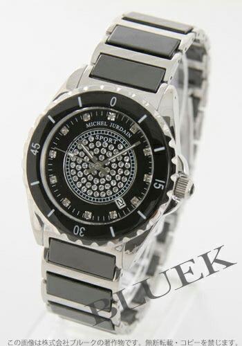 ミシェルジョルダン Jスポーツ 1Pダイヤ セラミック ブラック メンズ EG7000BKM