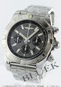 Brightman ring wind rider Kurono mat chronometer chronograph gray & black men A011F46PA
