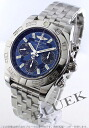 41 Brightman ring wind rider Kurono mat chronometer chronograph blue & black men A014C30PA